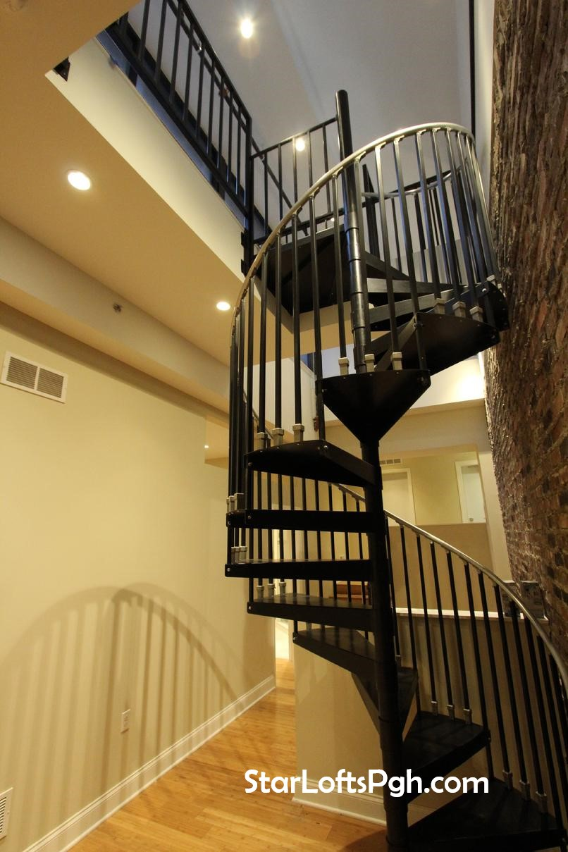 Penthouse Spiral Staircase